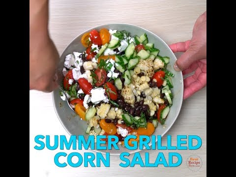 Best Summer Grilled Corn Salad