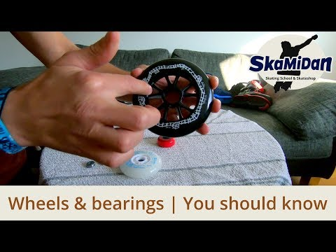 Skate Wheels And Bearings - That You Have To Know - Properties And Sizes - Inline Know-How #04