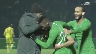 أهداف المباراة   أوزباكستان 2 : 3 السعودية