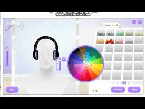 stardoll deasign jewelry..how to make cute headphones ♥ C: