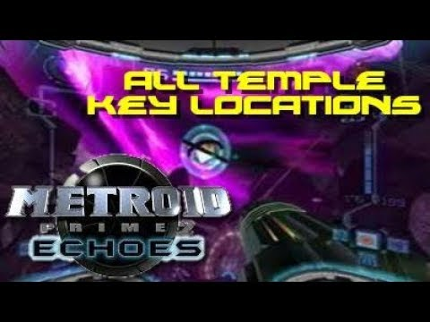 Metroid Prime 2: Echoes: All Temple Key Locations