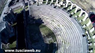 Anno degli Etruschi - Ferento vista col drone