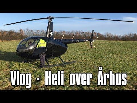 Vlog - Helikopter tur over Aarhus (HD)