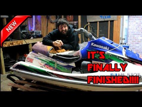 420cc predator Jet Ski final build!!!!