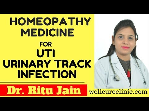 UTI - Urinary Track Infection Treatment  Medicine in Homeopathic