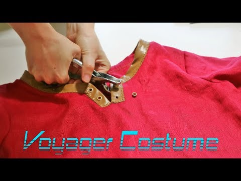 Breath of The Wild Link Cosplay: Hylian Outfit Timelapse 2 || VOYAGER COSTUME