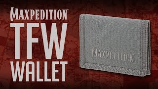 Maxpedition Advanced Gear Research Tfw Tri-fold Wallet