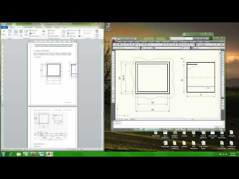 how to insert autocad drawing in word document.