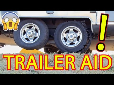 Trailer Aid Tire Changing Ramp