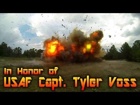 Nissan 300ZX Explosion, Barrett 50cal