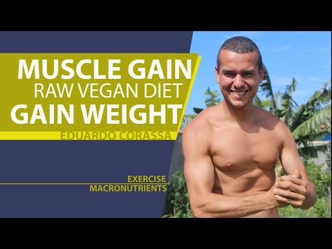 Muscle Gain With Raw Vegan Diet