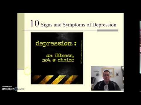 10 Signs and Symptoms of Depression