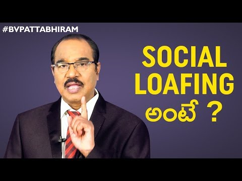 What Is Social Loafing? | Tips To Avoid Wasting Time | Personality Development | BV Pattabhiram