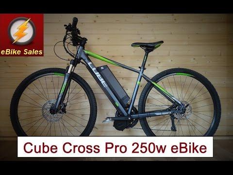 E Bike - Cube Cross Pro with 350w Bafang Mid Drive
