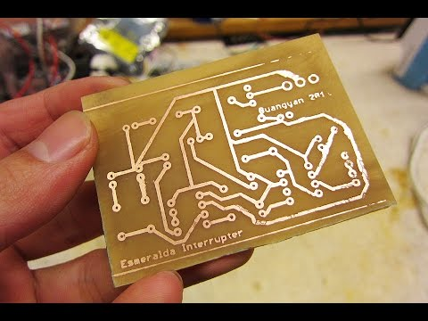 How To create a Printed Circuit Board (PCB) II PCB Making  2016 updated