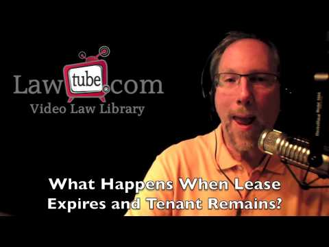 What happens when lease expires?