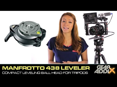 Manfrotto 438 Compact Leveling Head for Tripods