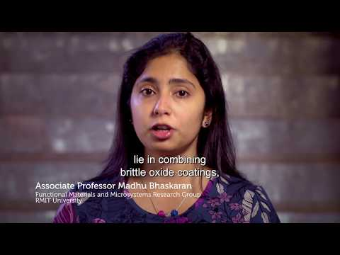 Associate Professor Madhu Bhaskaran, WINNER 2017 Eureka Prize for Outstanding ECR