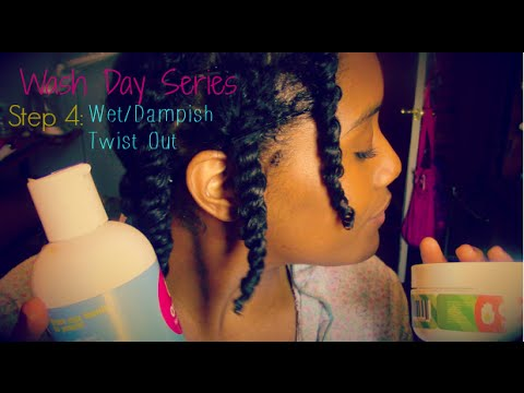 How to Two Strand Twist Natural Curly Hair