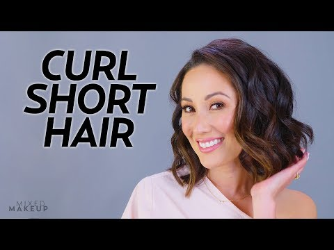 How I Curl My Short Hair! | Beauty with Susan Yara