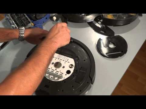 How to Disassemble and Replace the Bumper Sensors on the iRobot Roomba 700 Series Part1