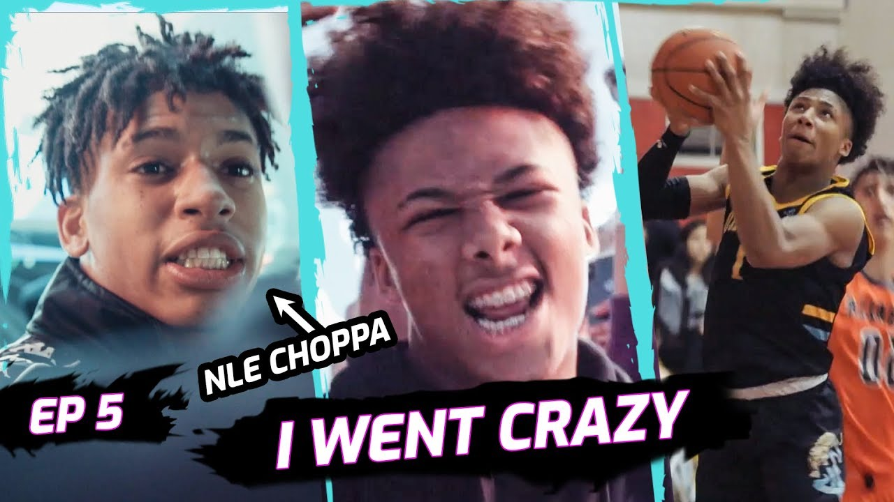 """""""Imagine 4 Years From Now."""" Mikey Williams TURNS UP & DANCES With NLE Choppa After Scoring 77 😱"""