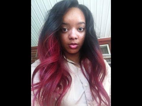 RED HAIR Coloring Tutorial | NO BLEACH