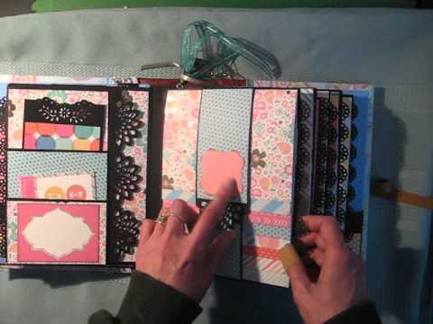 What's new at scrapbook-crazy for mini albums.
