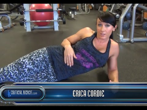Stronger Abs w/ Side Planks - Erica Cordie