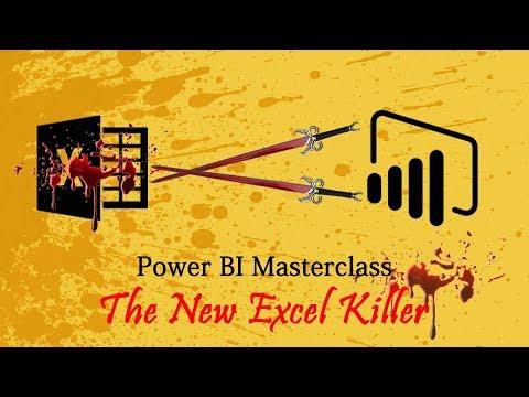 Power BI Masterclass - The Excel Killer (Course Launch - 2019)