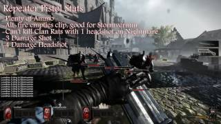 Vermintide: Victor Saltzpyre Ranged Overview
