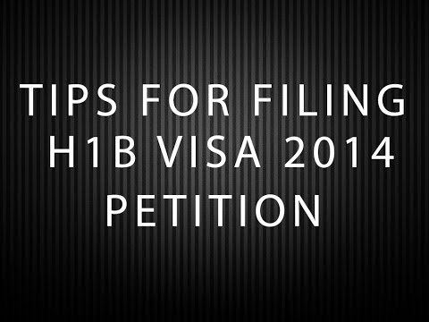 Tips for filing USA H1B Visa 2018 Petition with USCIS for FY 2018 - US WORK VISA
