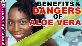 BENEFITS & DANGERS of ALOE VERA | Hair Loss Treatment and Dandruff Treatment | Natural Hair