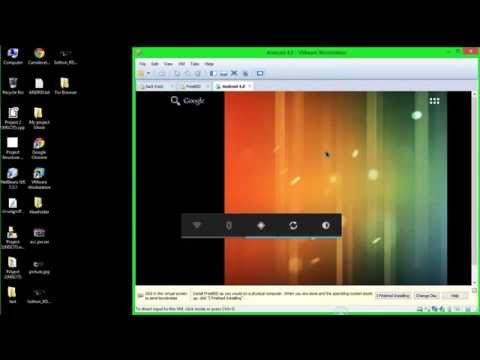 How to install android in Vmware and run terminal of anfroid very imazing
