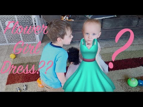 Did We Find THE Flower Girl Dress?!?