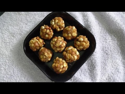 How to Make ground nut Laddu ( వేరుశెనగ లడ్డు).:: by Attamma TV ::.