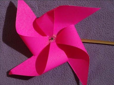 DIY How to make Paper Windmill || Windmill making Tutorial (Pinwheel) for kids.
