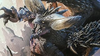 Defeating Nergigante in Monster Hunter World Beta Livestream - IGN Plays Live
