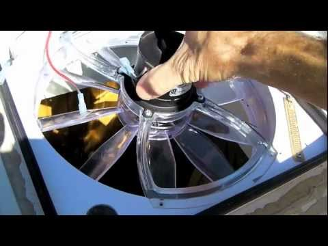 HOW TO: Clean an RV Vent Fan