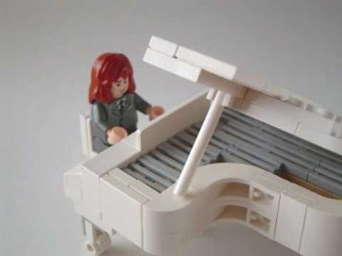 How to make Lego Grand Piano
