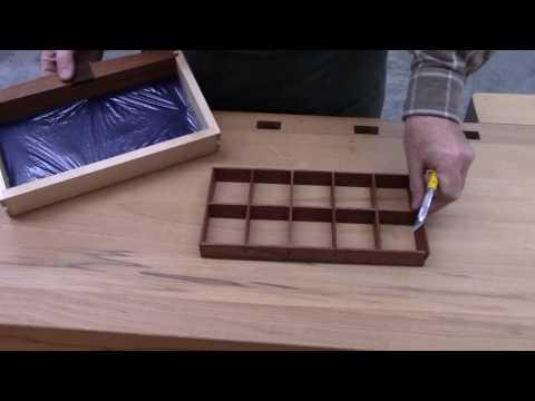 Making Jewelry Box Drawer Dividers
