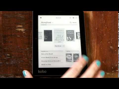 Kobo Tips: Finding the Bookstore on Kobo eReader