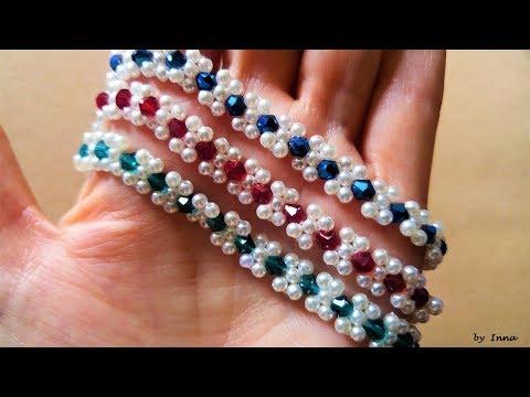 How to make easy beaded bracelet