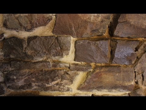 Working with Lime Mortar. Pointing stone walls. Mortier de chaux. Hacer juntas con mortero de cal.