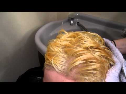 How to get rid of  the yellow on Bleached Hair