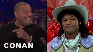 """Laurence Fishburne On Playing Cowboy Curtis In """"Pee-Wee's Playhouse"""""""