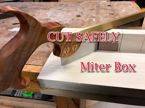 Making a Miter Box