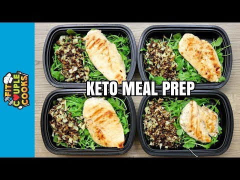 How To Meal Prep - Ep. 72 - KETO CHICKEN (4 Meals/$3 Each) - KETO MEAL PREP