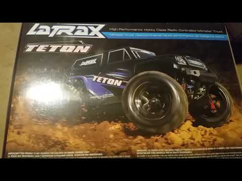 NEW Latraxx Traxxas Teton unboxing with wall charger!