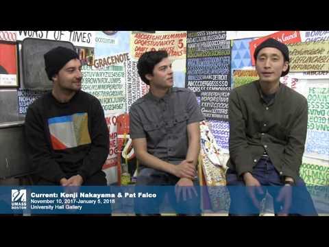 Now in the University Hall Gallery: Meet Artists Pat Falco & Kenji Nakayama